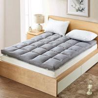 全棉床垫1.2榻榻米学生宿舍双人床褥子1.5单人垫被1.8m2米 2.0m(6.6英尺)床 【全棉面料】