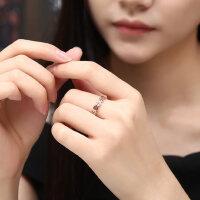 韩版转运招财铜钱币戒指女款钛钢镀18k玫瑰金彩金指环情侣戒指
