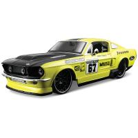 1967福特野马跑车模型仿真合金汽车模型1:24 原厂