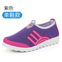 2018新款老北京布鞋女鞋休闲鞋透气平底防滑单鞋运动鞋软底妈妈鞋
