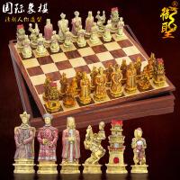 20180414180505117国际象棋套装 大号立体树脂象棋子配棋盘掌柜推荐