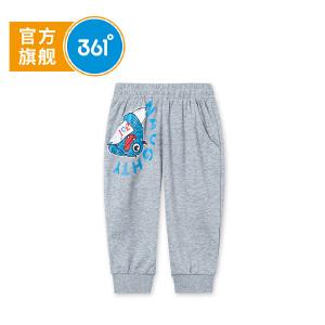 【下单立减2.5折价:34.7】361度 男童针织七分裤 夏季新款N51824571