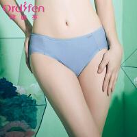欧迪芬 商场同款中腰三角内裤提臀舒适无痕女士三角内裤OP6331