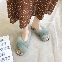 户外时尚女士拖鞋外穿休闲舒适平底鞋韩版百搭女鞋