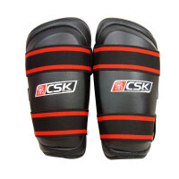 中成王CSK 新式仿皮护腿GX9406-1 散打护腿 一次成型 一副