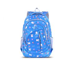 兔子书包小学生女生3-6年级儿童书包6-12周岁双肩双肩包 天蓝(13165)