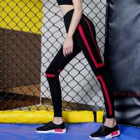 款 户外 专业 运动 跑步 长裤 女士 拼接 网纱 弹力 跑步 瑜伽 健身裤