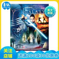 Star Wars立体书 星球大战:终极立体银河系 英文原版儿童 星战电影周边