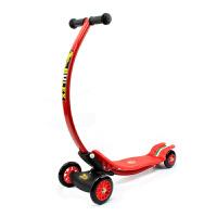 BULEX新款儿童四轮滑板车折叠滑板车C型杆脚踏车