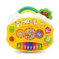 儿童早教玩具卡通乐器八音琴电子琴拍拍鼓婴儿讲故事宝宝男孩女孩启蒙玩具