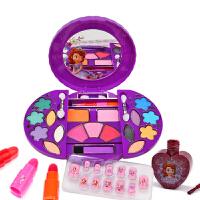 儿童化妆品公主彩妆盒套装眼影口红安全女孩玩具