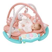 婴幼儿健身架器脚踏钢琴宝宝音乐游戏毯爬行垫0-3-12个月新生儿益智玩具