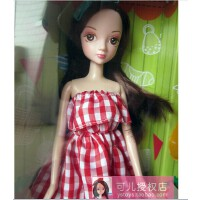 女孩玩具 可儿娃娃 2504-1 时尚包包 快乐DIY 礼盒 玩具