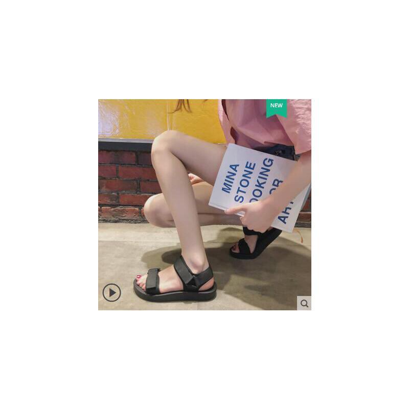 户外新品网红同款超火运动罗马凉鞋仙女风ins潮学生百搭新款时尚平底 品质保证 售后无忧
