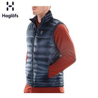 Haglofs火柴棍运动户外男款轻量保暖耐磨舒适羽绒马甲603061欧版