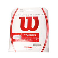 Wilson/威尔胜 网球线 WRZ944300 Synthetic Gut Control 16 White 复合线