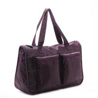 单肩手提旅行包行李包袋男女大容量防水运动健身包妈咪待产包斜跨 大