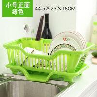 碗架厨房用品沥水碗架塑料收纳架厨房碗盘置物架碟筷子收纳架收纳篮置物