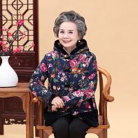 中老年人女装秋冬棉袄60-70-80岁奶奶装羽绒加厚妈妈棉衣外套