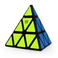 金字塔魔方三角 异形魔方三角形金字塔三阶套装顺滑学生玩具