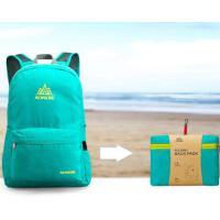 折叠收纳双肩包大容量防水登山包运动休闲旅游背包户外双肩包男女轻便旅行包