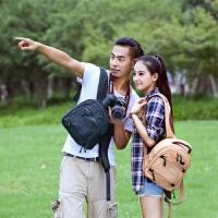 BBK-S3 小型双肩摄影包微单反相机包a6000 a7 照相机轻便包 BBK-S3尼龙黑