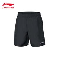 李宁运动短裤男士新款训练系列薄款短装夏季运动裤AKSN183
