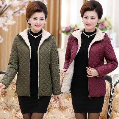 妈妈装棉衣中年女装冬装棉袄中老年外套短款40-50岁加绒加厚 发货周期:一般在付款后2-90天左右发货,具体发货时间请以与客服协商的时间为准