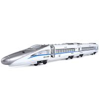 儿童玩具车惯性车和谐号合金地铁动车组火车头高铁声光男孩模型 合金和谐号 车头+车厢(套装)