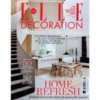 英国ELLE DECORATION 杂志FEBRUARY 2021年2月 家居空间软装与硬装设计