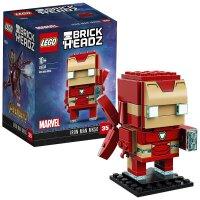 【当当自营】LEGO乐高方头仔-钢铁侠Mark50 41604