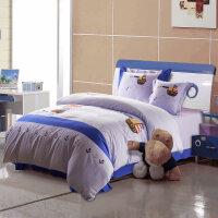 家纺儿童卡通床单四件套 男孩女孩个性1.2/1.5/1.8米四件套