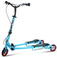 滑板车儿童剪刀车4岁-6岁大童蛙式车3轮四轮摇摆车