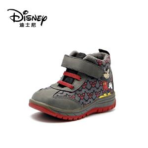 鞋柜/迪士尼冬款男童扣带魔术米妮休闲鞋1