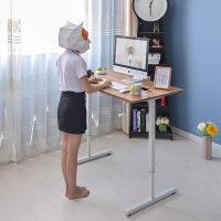 御目  电脑桌 家用儿童学习写字书桌写字台简约台式组合课桌办公桌简易学生置物架带书架家具用品