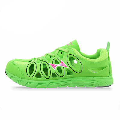 HEALTH/飞人海尔斯 8080空气导流跑鞋 吸氧跑步鞋 超轻镂空运动鞋 男女款
