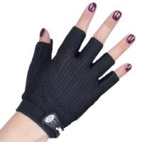 健身手套女哑铃器械训练运动锻炼护手掌瑜伽装备薄款透气防滑半指