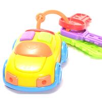 仿真音乐汽车遥控器钥匙玩具 电动汽车遥控器宝宝过家家玩具