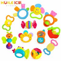 汇乐婴儿玩具0-1岁新生儿牙胶儿童早教摇铃组合安抚12只礼盒 919+939A