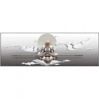 【品牌热卖】斗战胜佛浮雕装饰画现代客厅沙发背景墙挂画卧室3立体壁画孙悟空 斗战圣佛60*180 60*180 30mm