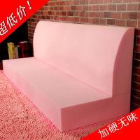 加硬高密度海绵 海绵沙发垫飘窗垫坐垫子订制定做加厚 加硬无异味海绵