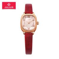 新款 聚利时时尚皮带款手表方形镜面小巧石英女表