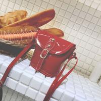 七夕礼物儿童包包女2018新款韩版时尚百搭水桶包小女孩单肩宝宝休闲斜挎包 红色