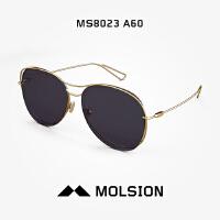 Molsion陌森Angelababy同款2018年新太阳镜女士双梁墨镜潮MS8023