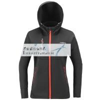 秋冬季新款户外男女保暖弹力越野跑步外套软壳冲锋衣叁