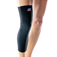 LP欧比护膝高伸缩型全腿式护套667 运动型护腿膝关节大腿护具 单只