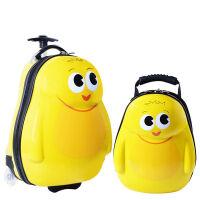 18寸儿童拉杆箱旅行箱定制16寸行李箱包小黄人可爱卡通男女小拖箱