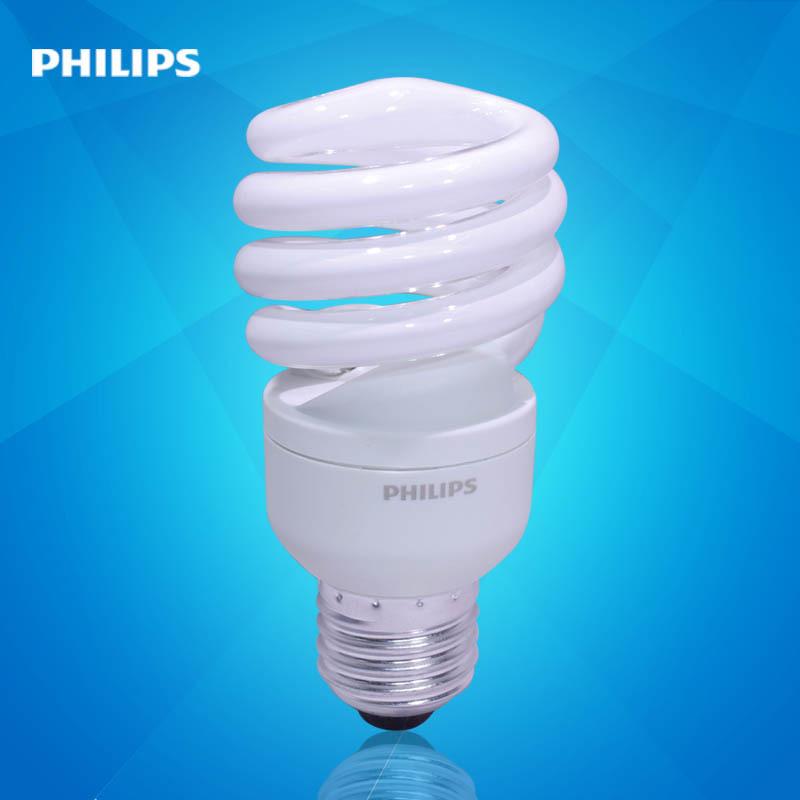 飞利浦节能灯螺旋型15W/E27家用大螺口节能灯(新老包装*发 )