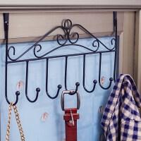 卧室门后衣架挂钩 卧室衣架架子壁挂式免打孔多功能家用墙上衣服的客厅宿舍门后挂钩