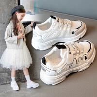 女童运动鞋2020儿童鞋子春季休闲男童透气老爹鞋